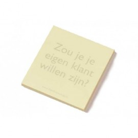 Post-it blokje Zou jij je...